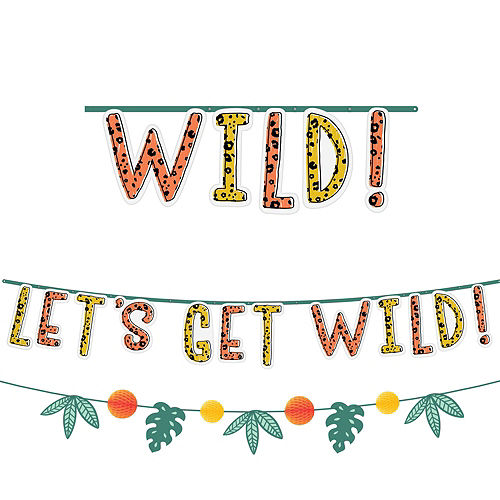 Get Wild Jungle Birthday Party Kit for 16 Guests Image #7