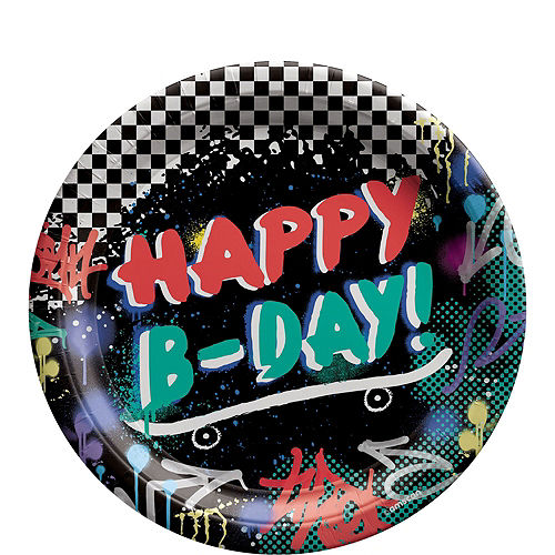 Skater Party Birthday Party Kit for 8 Guests Image #3