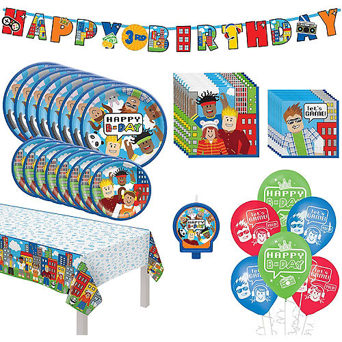 Party Town Birthday Party Kit for 8 Guests Image #1