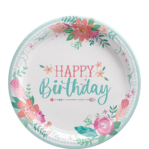 Free Spirit Boho Birthday Party Kit for 8 Guests Image #3