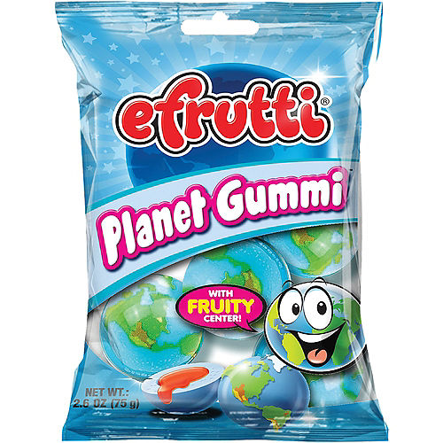 Efrutti Planet Gummies with Fruity Centers, 4pc Image #1