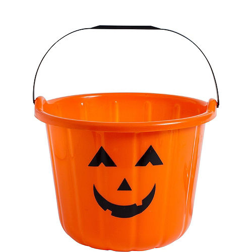 Jack-o'-Lantern Candy Bucket Centerpiece Kit Image #6