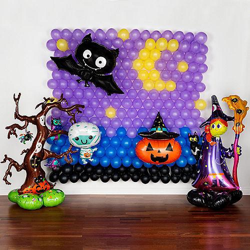 DIY Halloween Friends Balloon Backdrop Kit, 3pc Image #1