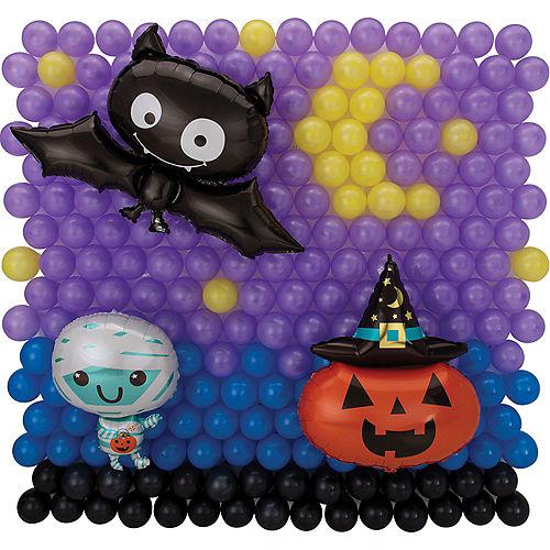 DIY Halloween Friends Balloon Backdrop Kit, 3pc Image #5