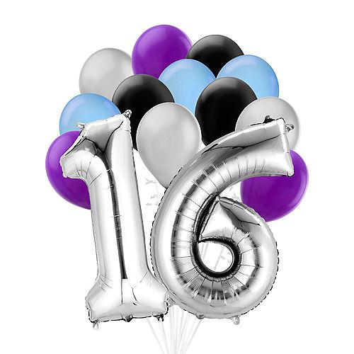 Premium Finally 16 Balloon Bouquet, 14pc Image #1