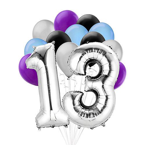 Premium Finally 13 Balloon Bouquet, 14pc Image #1
