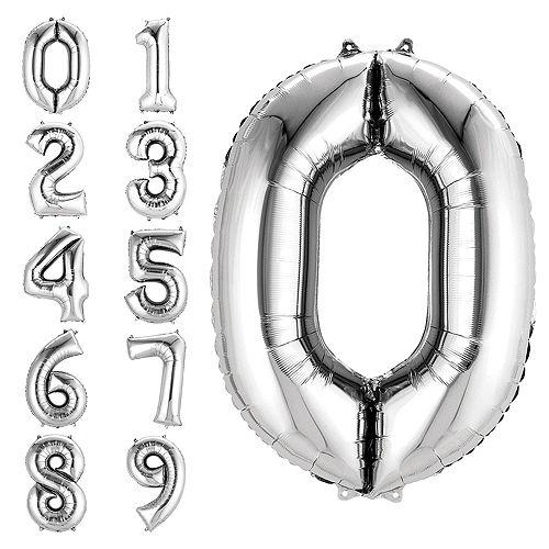 Premium Finally 50 Balloon Bouquet, 14pc Image #3
