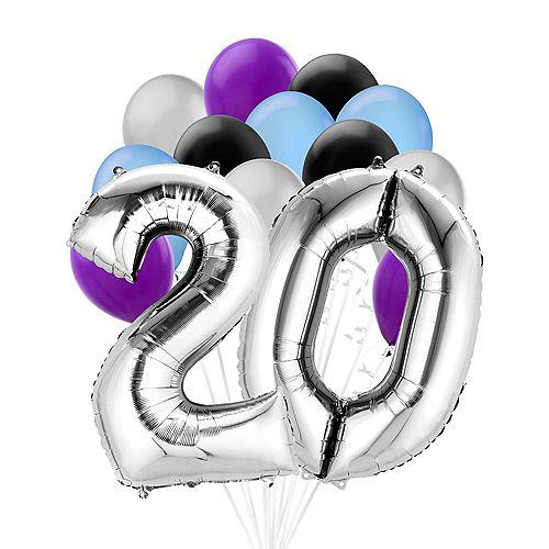 Premium Finally 20 Balloon Bouquet, 14pc Image #1