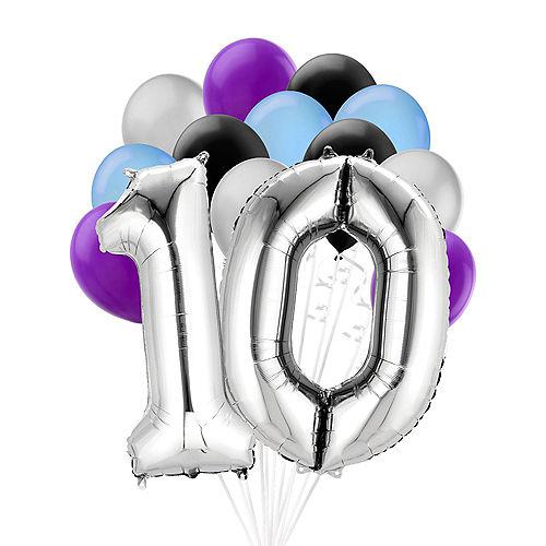 Premium Finally 10 Balloon Bouquet, 14pc Image #1