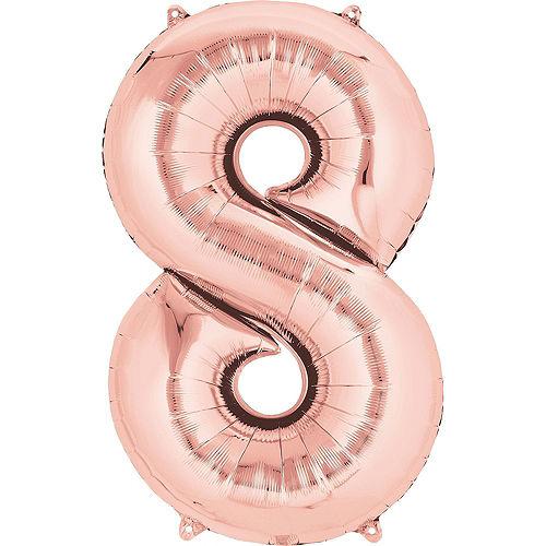 Premium Happy 18 Balloon Bouquet, 14pc Image #3