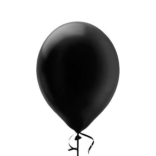 Premium Black & Blue Classic 13 Balloon Bouquet, 14pc Image #4