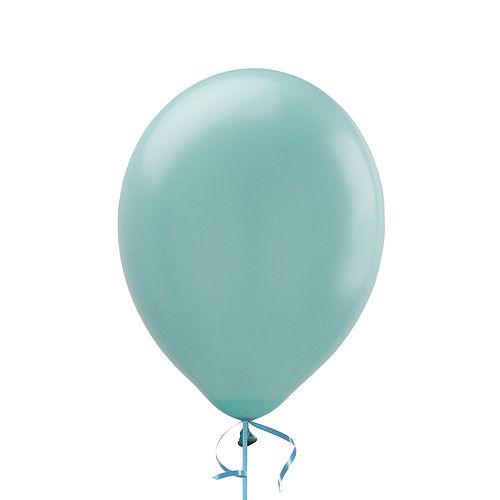 Premium Rainbow & Silver 16 Balloon Bouquet, 14pc Image #5