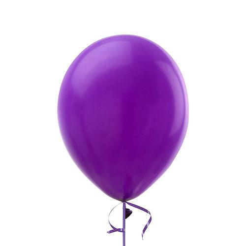 Premium Rainbow & Silver 16 Balloon Bouquet, 14pc Image #7