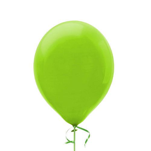 Premium Rainbow & Silver 50 Balloon Bouquet, 14pc Image #6