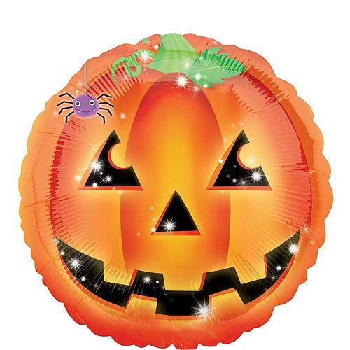 Premium Jack-o'-Lantern & Skeleton Halloween Balloon Bouquet, 6pc Image #2