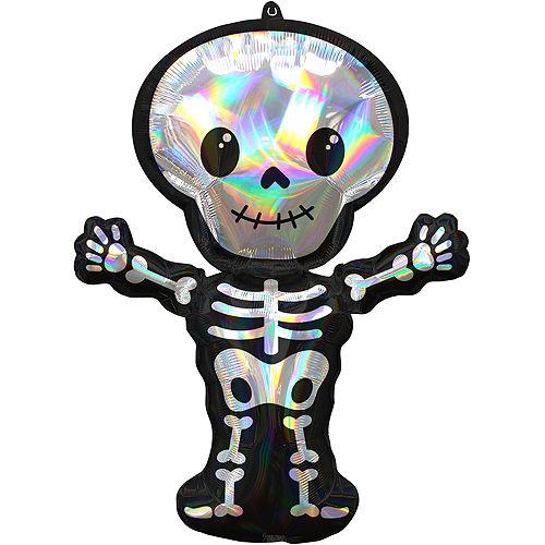 Premium Jack-o'-Lantern & Skeleton Halloween Balloon Bouquet, 6pc Image #4
