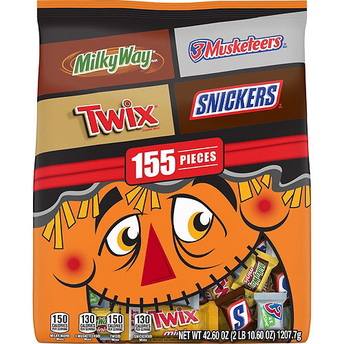 Trick-or-Treat Porch Decorating Kit, 7pc, Includes Balloons, Chocolate Candies & Cauldron Image #2