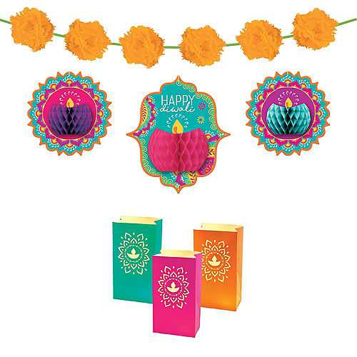 Happy Diwali Room Decorating Kit Image #1