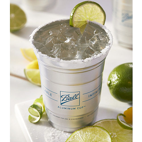 Ball Aluminum Cup™, 16oz, 24ct - The Ultimate 100% Recyclable Cold-Drink Cup Image #2