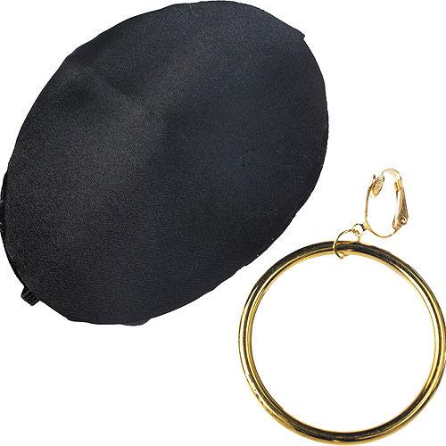 Pirate Earring & Eye Patch Set Image #2