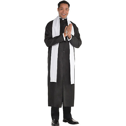 Adult Holy Sister Nun & Father Priest Couples Costumes Image #3