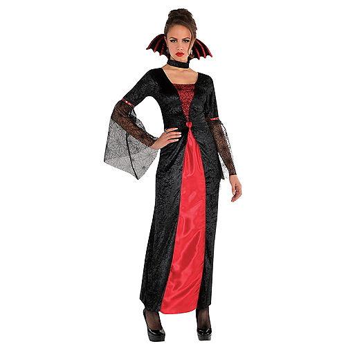 Adult Countess Vampiretta Vampire & True Vampire Couples Costumes Image #2