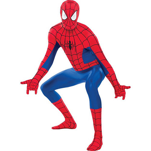 Adult Sexy Spider-Girl Catsuit & Spider-Man Partysuit Couples Costumes Image #3
