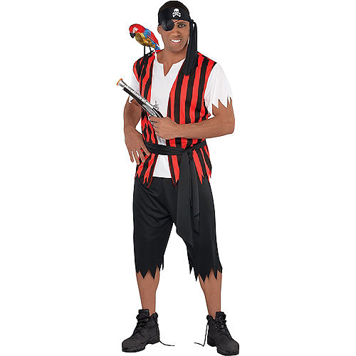 Adult Ahoy Matey Pirate & Walking Pirate Doggy & Me Costumes Image #2