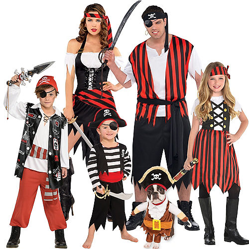 Pirate Family Costumes Image #1