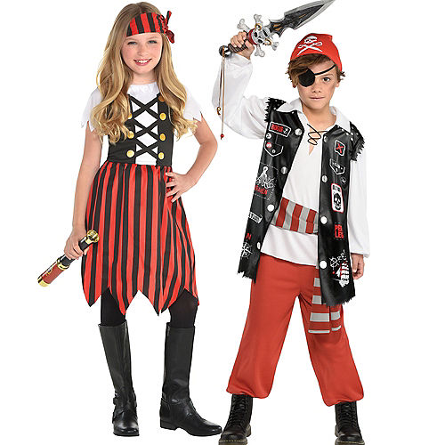 Pirate Family Costumes Image #3