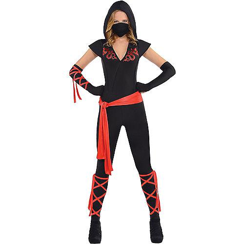 Adult Ninja Couples Costumes Image #2
