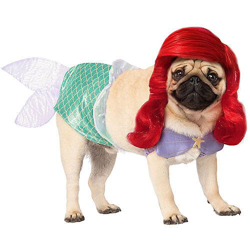 Adult Ursula & Ariel Doggy & Me Costumes - The Little Mermaid Image #2