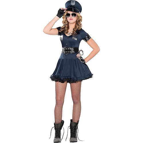 Adult Locked N Loaded Cop & Under Arrest Cop Couples Costumes Image #2