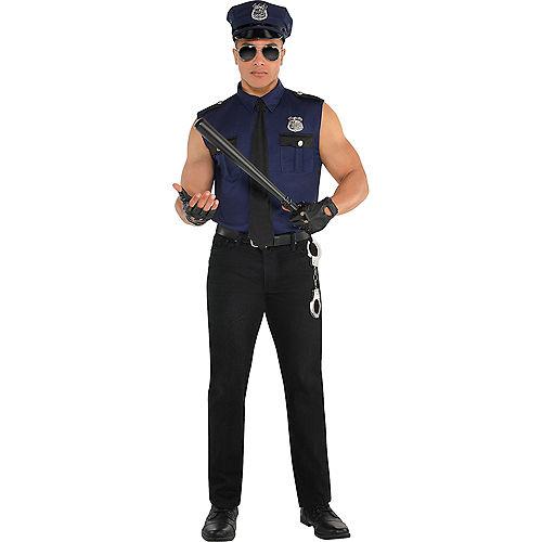 Adult Locked N Loaded Cop & Under Arrest Cop Couples Costumes Image #3