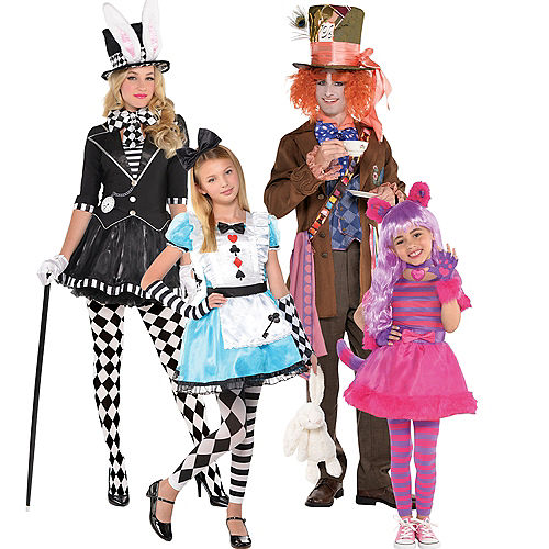 Alice in Wonderland Family Costumes Image #1