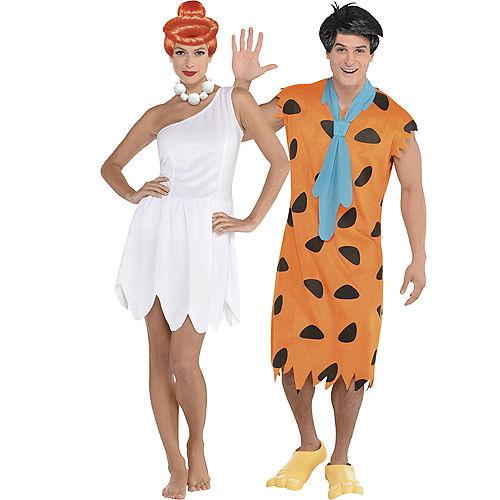 Adult Wilma Flintstone & Fred Flintstone Costumes - The Flintstones Image #1