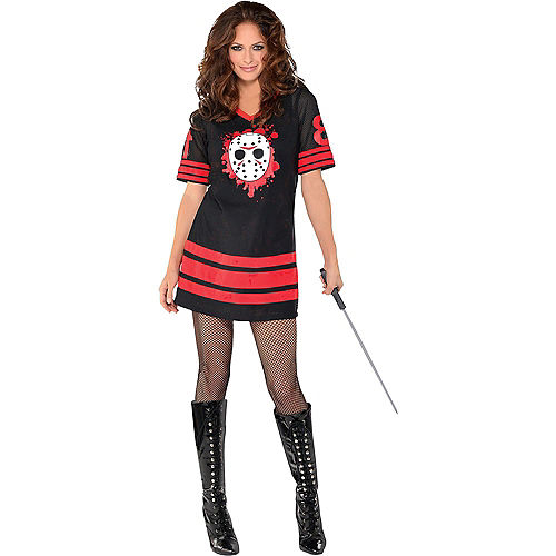 Adult Friday the 13th Couples Costumes Image #2