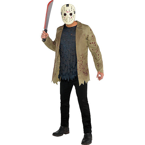 Adult Friday the 13th Couples Costumes Image #3