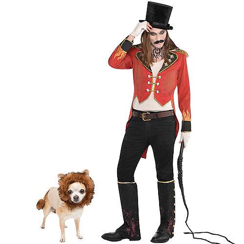 Adult Ringmaster & Lion Doggy & Me Costumes Image #1