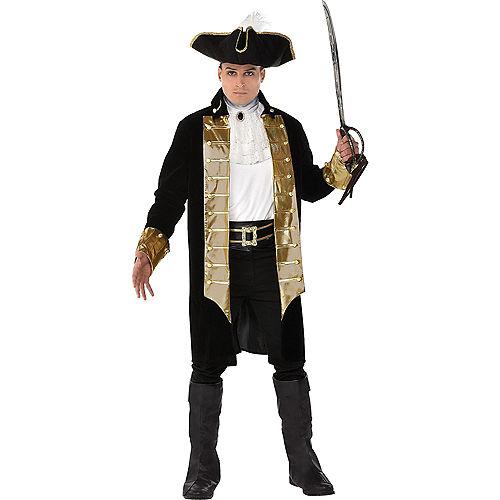 Adult Treasure Vixen Pirate & Treasure Captain Pirate Couples Costumes Image #3