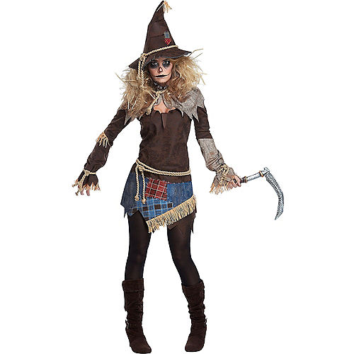 Adult Scarecrow Couples Costumes Image #2