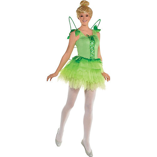 Adult Tinker Bell & Captain Hook Couples Costumes - Peter Pan Image #2