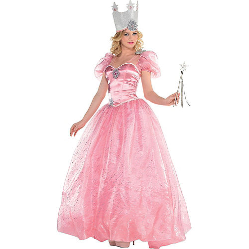 Women's Glinda & The Wicked Witch Couples Costumes - Wizard of Oz Image #3