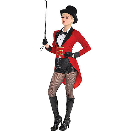 Adult Circus Ringmaster & Lion Doggy & Me Costumes Image #3