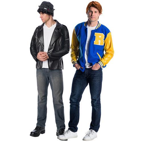Men's Jughead & Archie Couples Costumes Image #1