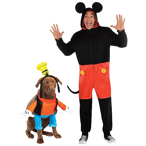 Zipster Mickey Mouse One Piece & Goofy Doggy & Me Costumes Image #1