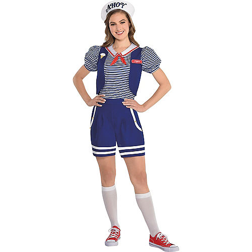 Adult Robin Scoops Ahoy & Steve Scoops Ahoy Couples Costumes Image #2