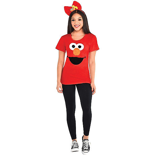 Adult Elmo & Cookie Monster Costume Accessory Kits - Sesame Street Image #2
