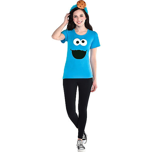 Adult Elmo & Cookie Monster Costume Accessory Kits - Sesame Street Image #3