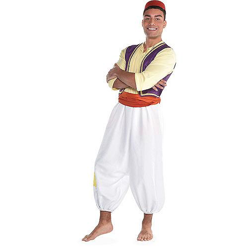 Adult Jasmine Whole New World & Aladdin Couples Costumes Image #3